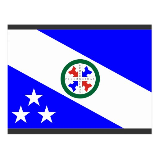 Pederneiras, Brazil Post Card