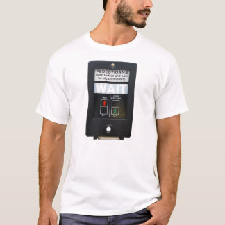 Pedestrian Crossing Push Button T-Shirt