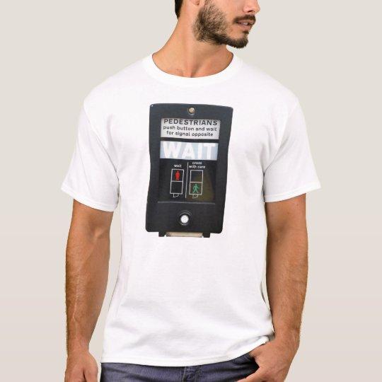 Pedestrian Crossing Push Button T-Shirt