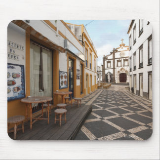 Pedestrian street mouse pad