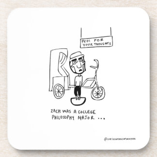 Pedi For Your Thoughts Coaster