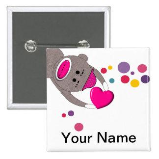 Pediatric Nurse Name Badge Pins Customizable II