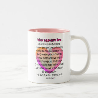 Pediatric Nurse Poem Gifts Mug