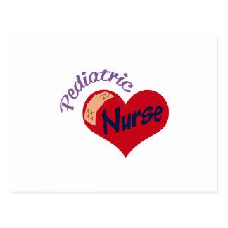 Pediatric Nurse Postcard