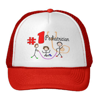 Pediatrician #1 Adorable Kids Design Gifts Trucker Hats