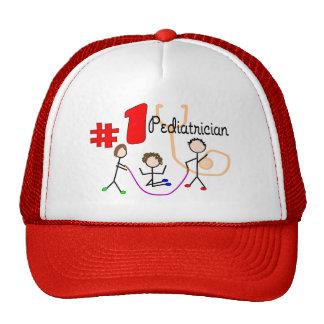 Pediatrician #1 Adorable Kids Design Gifts Trucker Hats