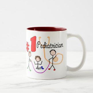 Pediatrician #1 Adorable Kids Design Gifts Mugs