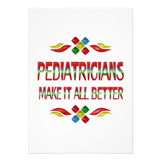 PEDIATRICIAN APPRECIATION ANNOUNCEMENTS
