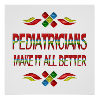 PEDIATRICIAN APPRECIATION POSTERS