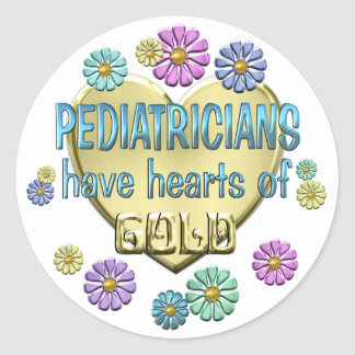 Pediatrician Appreciation Round Sticker