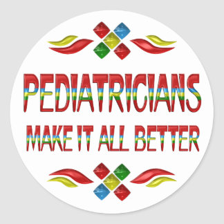 PEDIATRICIAN APPRECIATION STICKERS