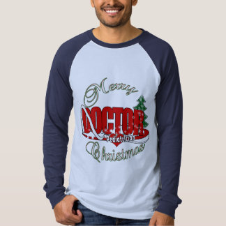 PEDIATRICIAN DOCTOR MERRY CHRISTMAS T-Shirt