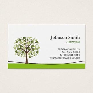 Pediatrician - Elegant Wish Tree Business Card