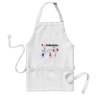 Pediatrician Gifts Kids Stickpeople Designs Apron