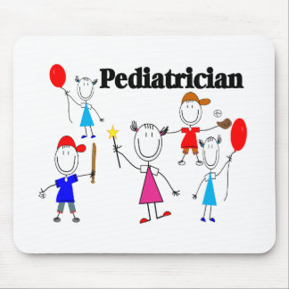 Pediatrician Gifts Kids Stickpeople Designs Mouse Mat