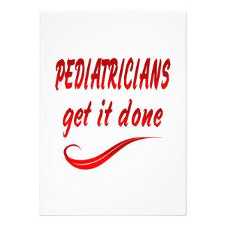 Pediatricians Get it Done Invite