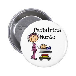 Pediatrics Nurse T-shirts and Gifts 6 Cm Round Badge