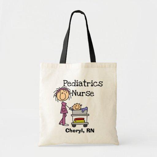 Pediatrics Nurse Tshirts and Gifts Tote Bags