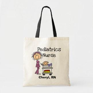 Pediatrics Nurse Tshirts and Gifts Budget Tote Bag