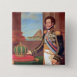 Pedro I  Emperor of Brazil, 1825 15 Cm Square Badge