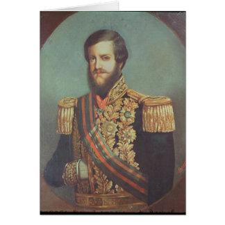 Pedro II  Emperor of Brazil Card