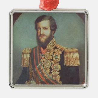 Pedro II  Emperor of Brazil Christmas Ornament