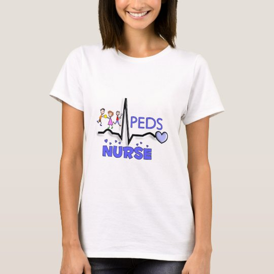 PEDS NURSE QRS Design T-Shirts & Gifts