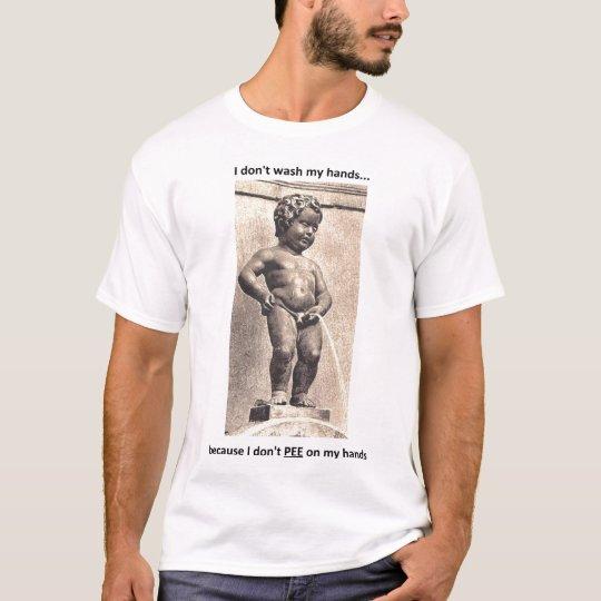 Pee Hands T-Shirt