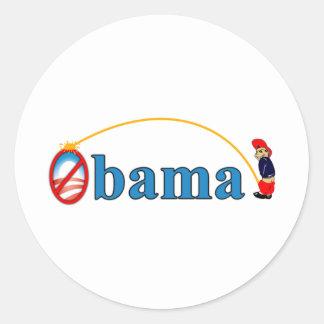 Pee on Obama Sticker