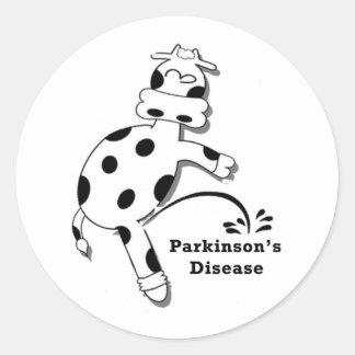 Pee on Parkinson s Disease Sticker