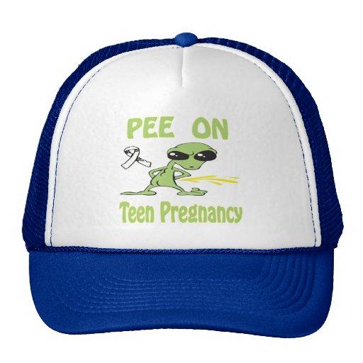 Pee On Teen Pregnancy Hat