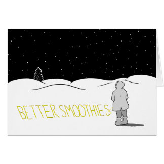 Pee the change you want to see: Better smoothies Card