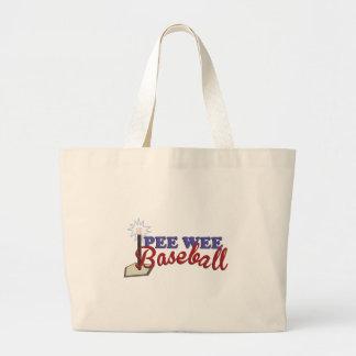 Pee Wee Baseball Jumbo Tote Bag