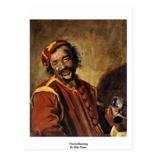 Peeckelhaering By Hals Frans Postcard