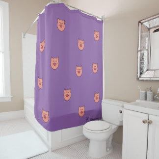 Peegy Shower Curtain