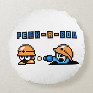Peek-a-Boo 2 Round Cushion