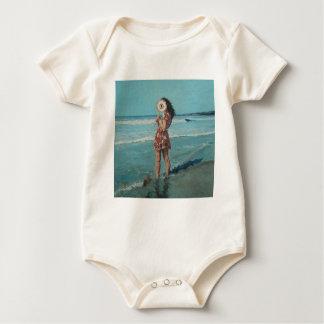 Peek a boo baby bodysuit