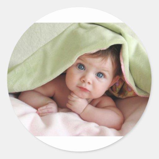 Peek-A-Boo Baby Stickers
