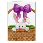 Peek-a-Boo Bunny Card
