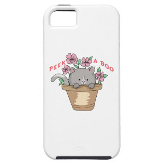 PEEK A BOO CAT iPhone 5 CASE