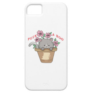 PEEK A BOO CAT iPhone 5 COVERS