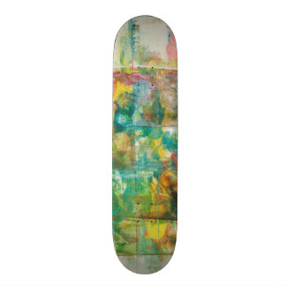 Peek a boo IV 21.3 Cm Mini Skateboard Deck