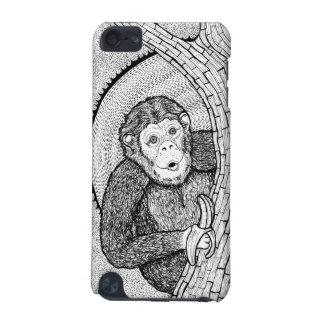 Peek a Boo Monkey Art iPod Touch (5th Generation) Case