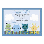 """Peek a Boo Monsters"" Diaper Raffle Tickets Pack Of Chubby Business Cards"