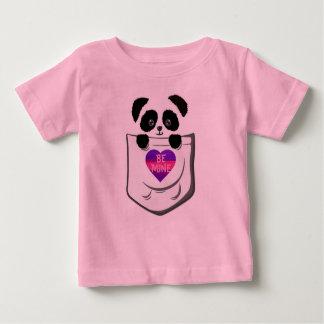 Peek-A-Boo Panda Bear Be My Valentine Baby T-Shirt
