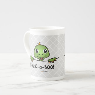 Peek-a-Boo Pets (Fun, Happy, Cute Turtle) Tea Cup