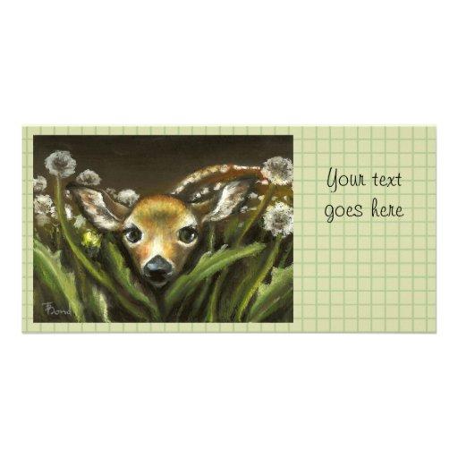 Peek-a-boo Customized Photo Card