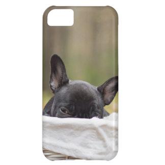 Peek-A-Boo Puppy iPhone 5C Case