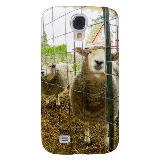 Peek a Boo Sheep Galaxy S4 Cover