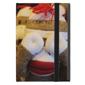 Peek-a-boo Sock Monkey iPad Mini Cover